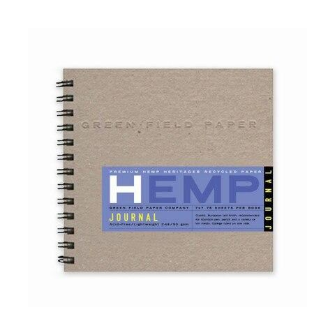 Hemp Heritage square lined/blank journal