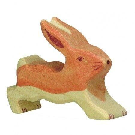 Holztiger rabbit, small running