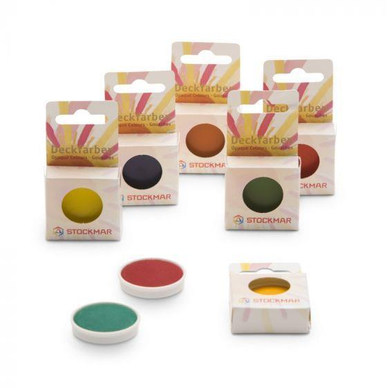 Stockmar opaque watercolour paint, replacement cups
