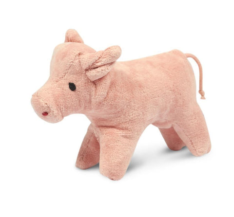 organic cotton and wool pig