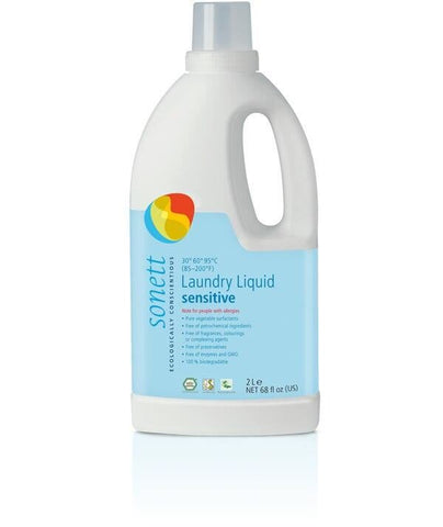 Sonett laundry liquid, Sensitive 2L