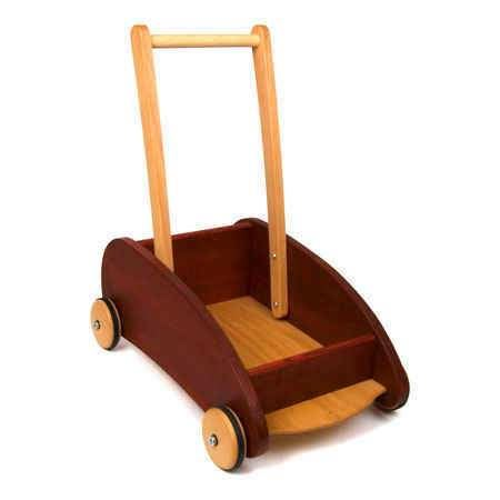 baby walker cart, ashwood, Swedish red