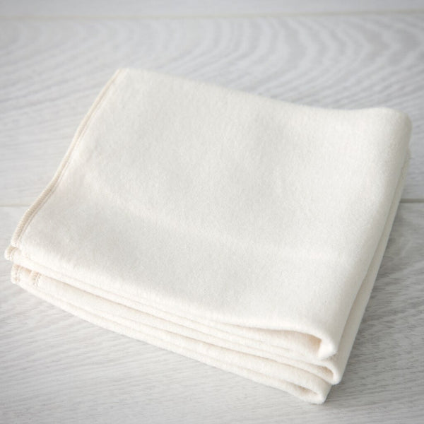 organic cotton flannel cloths, set of 3 (special order)