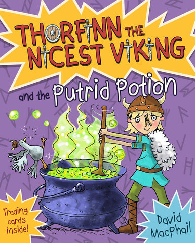 Thorfinn the Nicest Viking & the Putrid Potion (Book 8 in the Series)