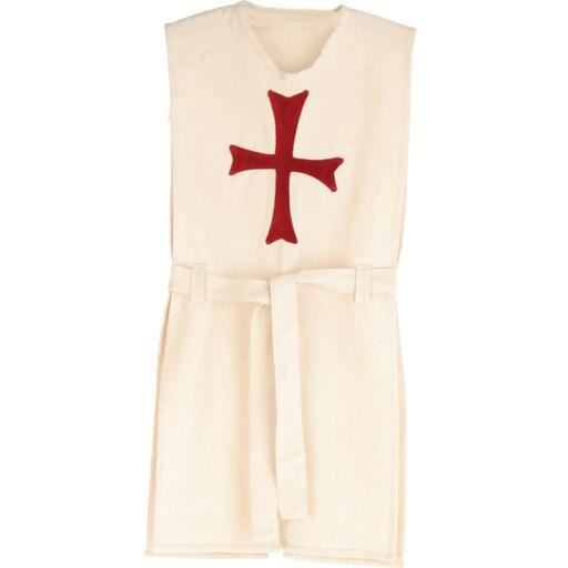white tunic with red cross
