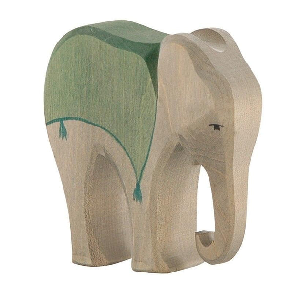 Ostheimer elephant with saddle