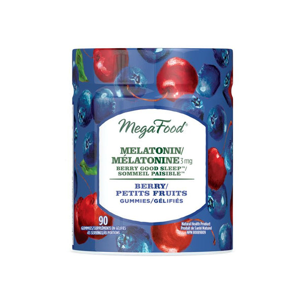 MegaFood Melatonin gummies, 3mg, 90ct