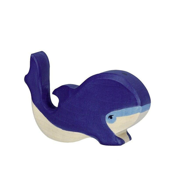Holztiger blue whale, small