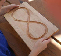figure eight tracing board