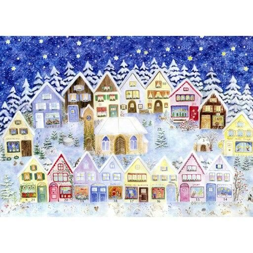 Christmas in the Elves' Village Mini Advent Calendar