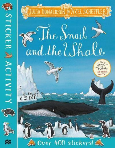 The Snail and the Whale Sticker Activity book