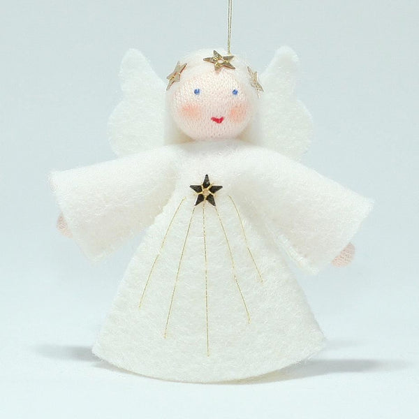 Ambrosius l'il angel ornament, white hair