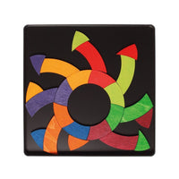 Goethe's colour circle magnetic game
