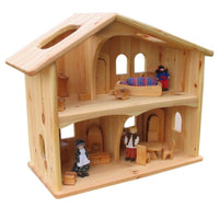 rectangular dollhouse table