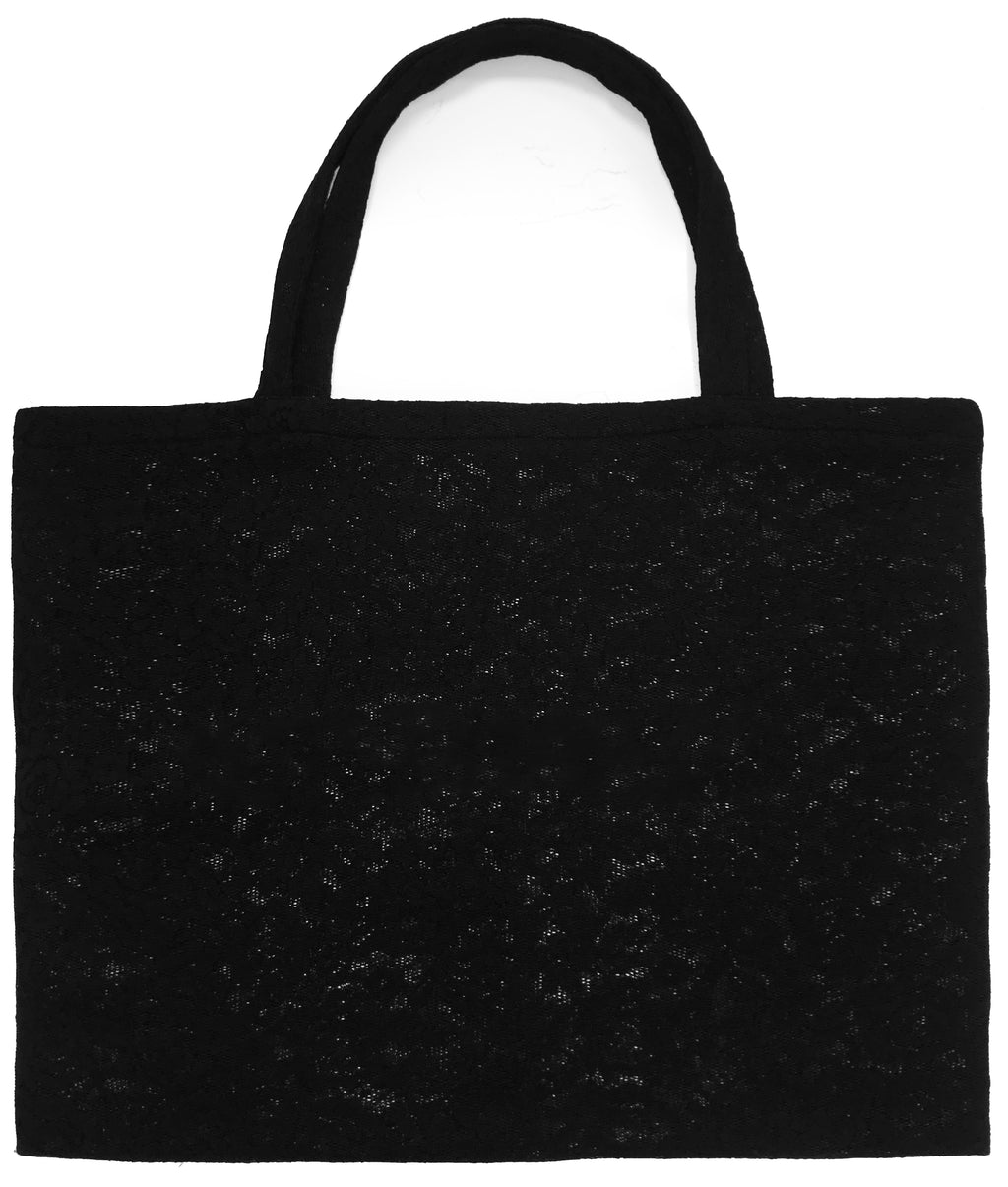 SHOPPER BAG in LACE NEOPRENE - MENAGERIÉ Intimates