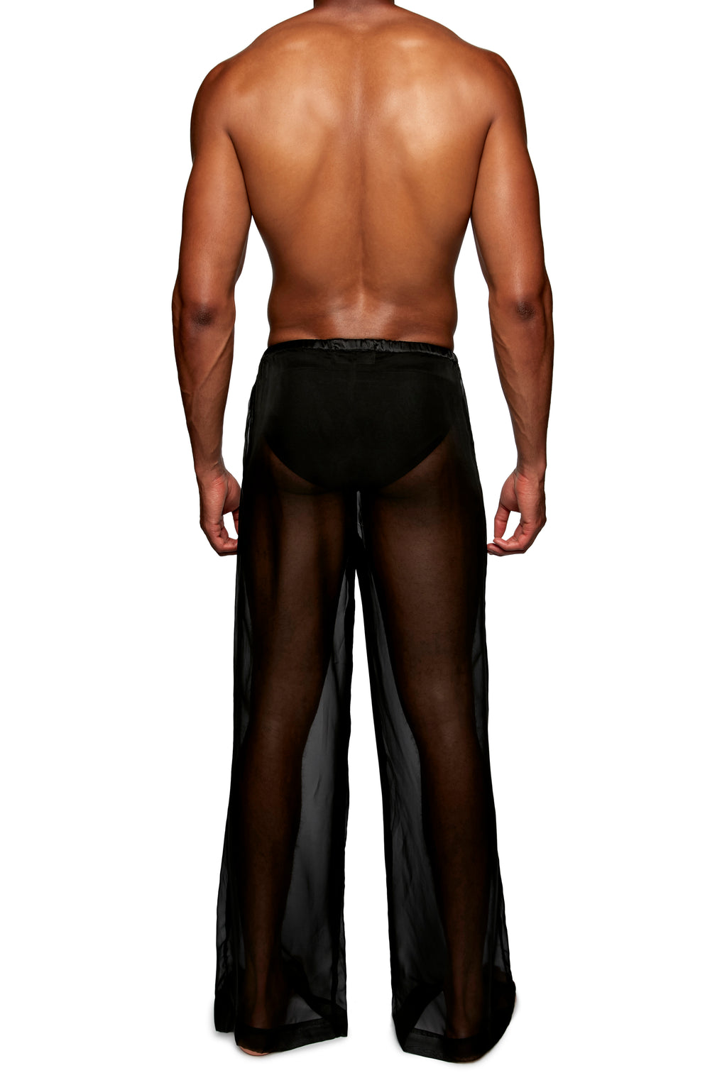 DRAWSTRING PANT in CHIFFON - MENAGERIE Intimates MENS Lingerie