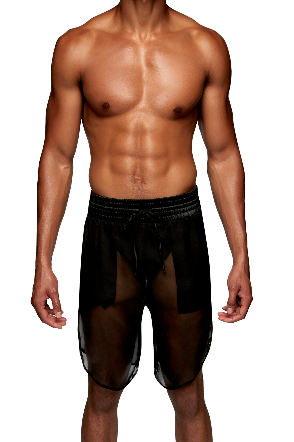 SPORTS SHORT in CHIFFON - MENAGERIE Intimates MENS Lingerie
