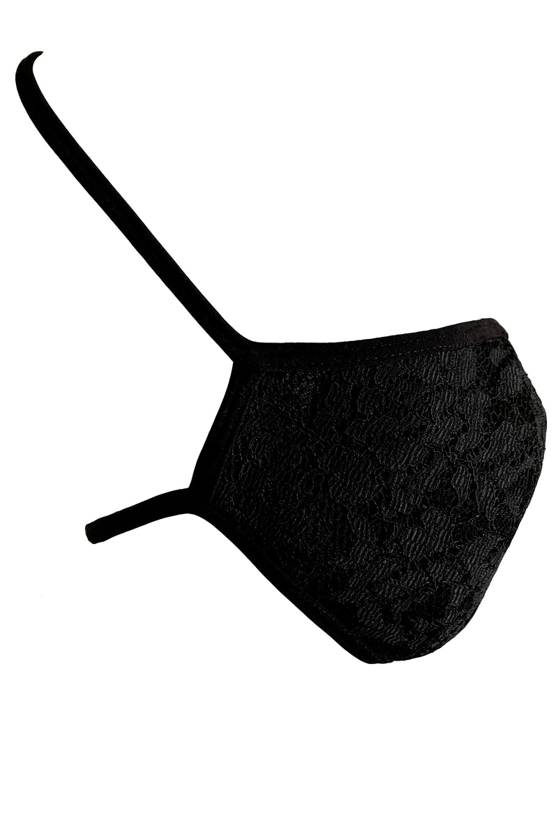 FACE MASK in NEOPRENE LACE - MENAGERIÉ Intimates