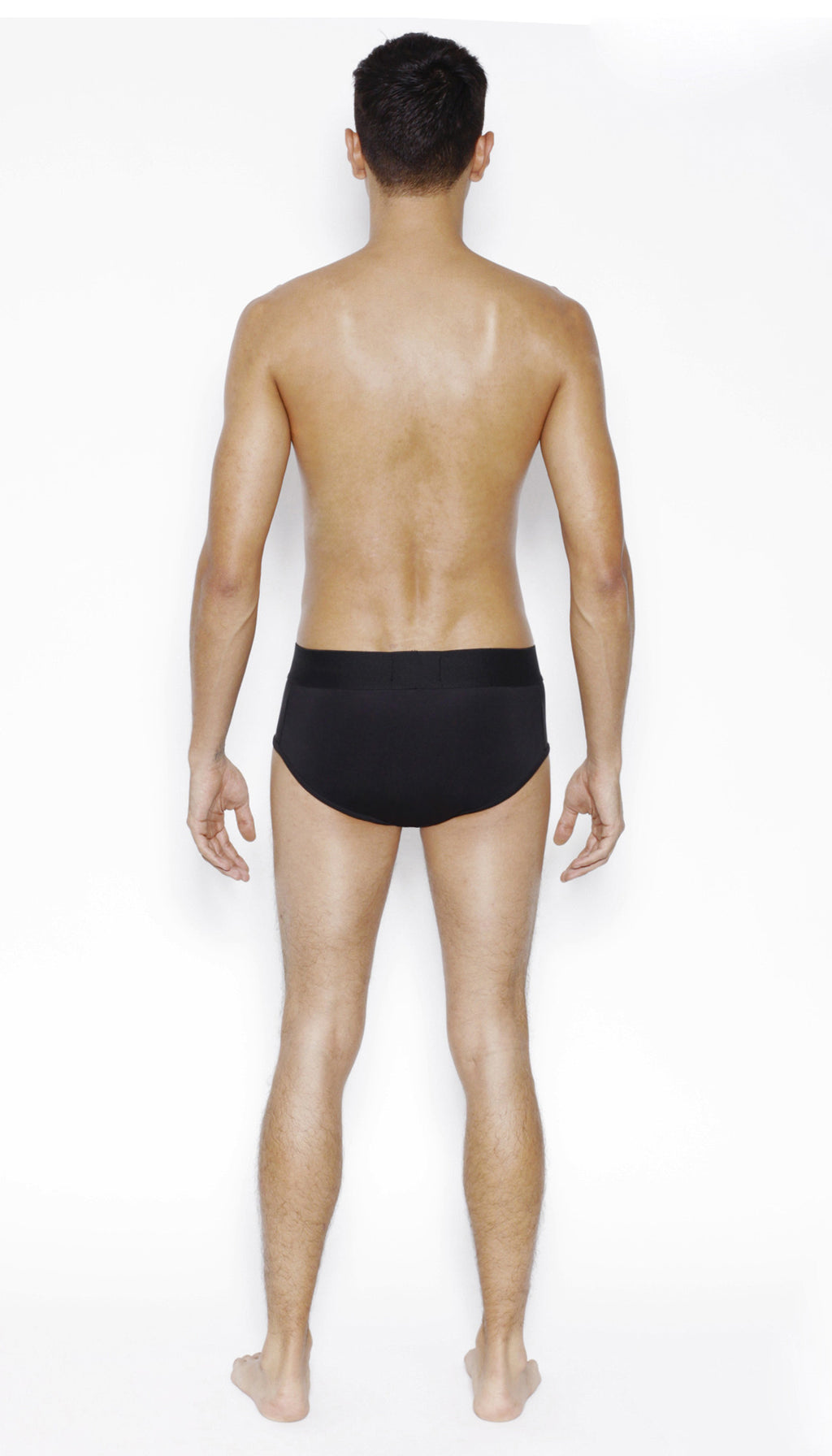 Low Rise Brief in BLACK - MENAGERIE Intimates MENS Lingerie