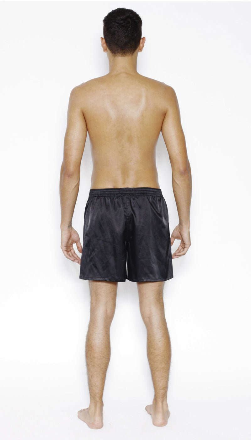 Boxer Short in SATIN or SILK - MENAGERIE Intimates MENS Lingerie