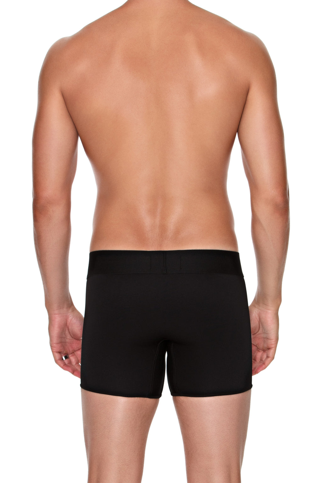 Boxer Brief in BLACK - MENAGERIÉ Intimates