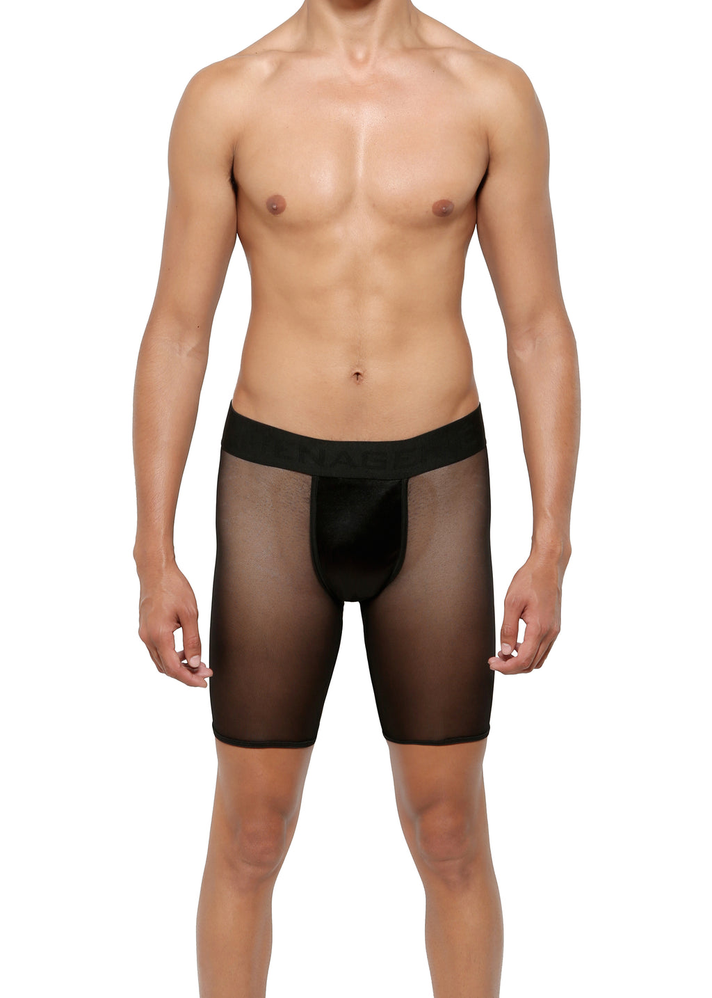 CYCLE SHORT in MICRO-MESH - MENAGERIE Intimates MENS Lingerie