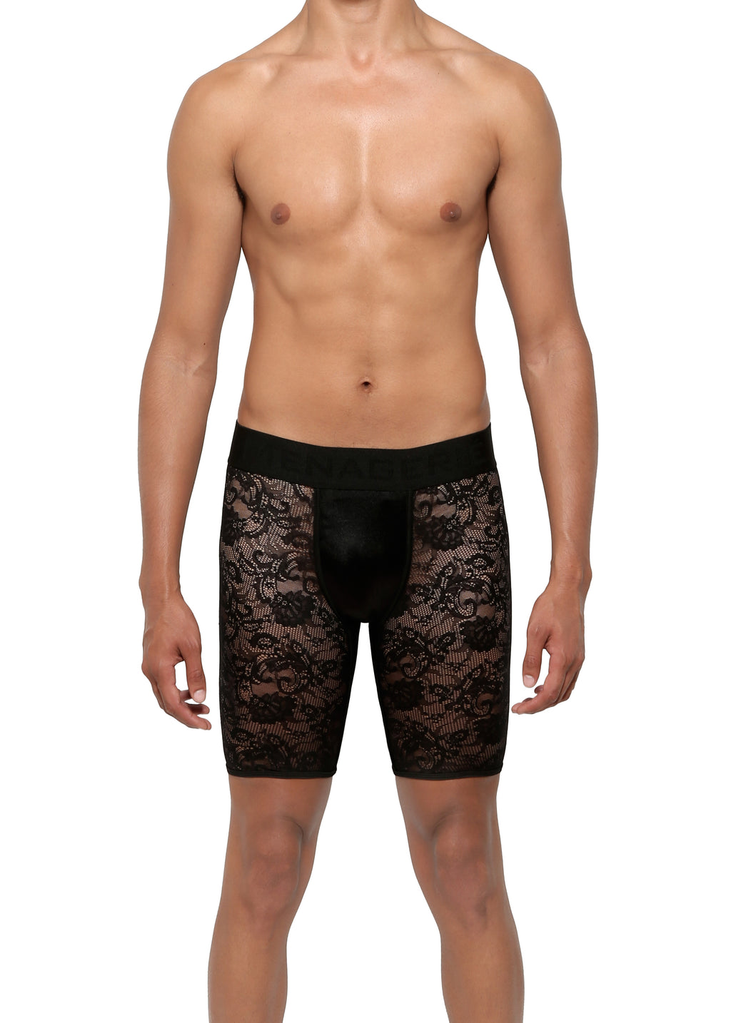CYCLE SHORT in LACE SPANDEX - MENAGERIÉ Intimates