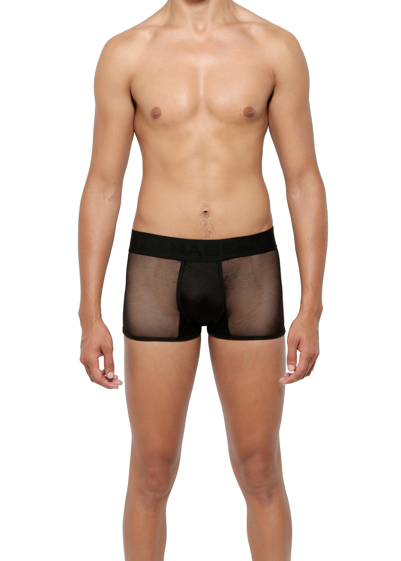 LOW RISE TRUNK in MICRO-MESH - MENAGERIE Intimates MENS Lingerie