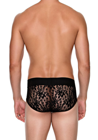Low Rise Brief with LACE BACK