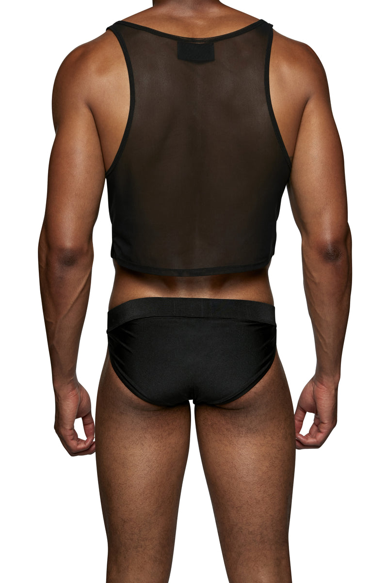 Cropped Swim Tank - MENAGERIE Intimates MENS Lingerie