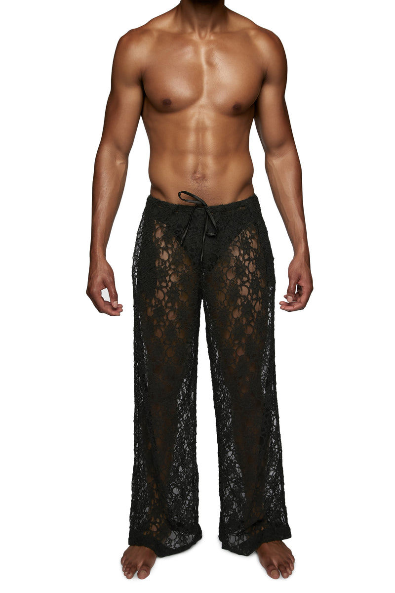 DRAWSTRING PANT in LACE - MENAGERIÉ Intimates