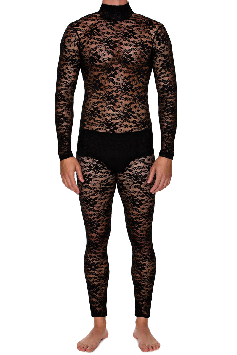 Lace Bodysuit - MENAGERIE Intimates MENS Lingerie