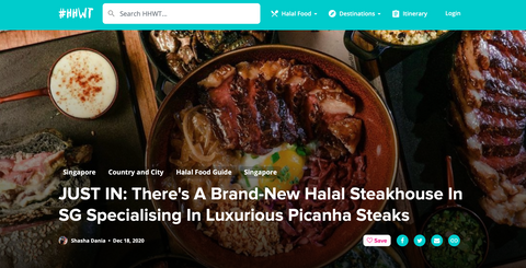 UST IN: There's A Brand-New Halal Steakhouse In SG Specialising In Luxurious Picanha Steaks