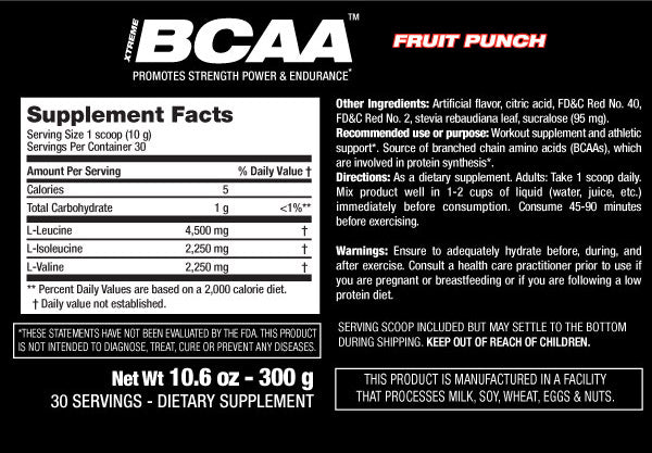 Fruit Punch& Flavorless / 300g - 30 Servings