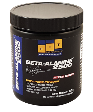 Beta-Alanine 2500mg Powdered Drink Mix 110 Servings