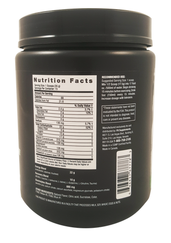 525g - 15 Servings / Punch