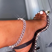 MIAMI 12MM CUBAN ANKLET