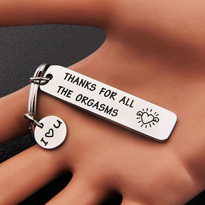 Funny keychain for couples