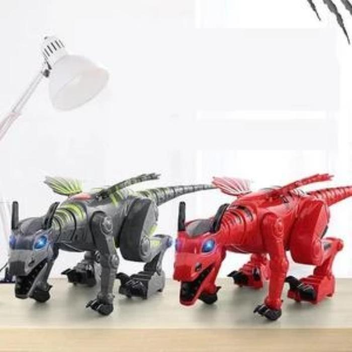 Walking Dinosaur-Dragon Hybrid Toy - full