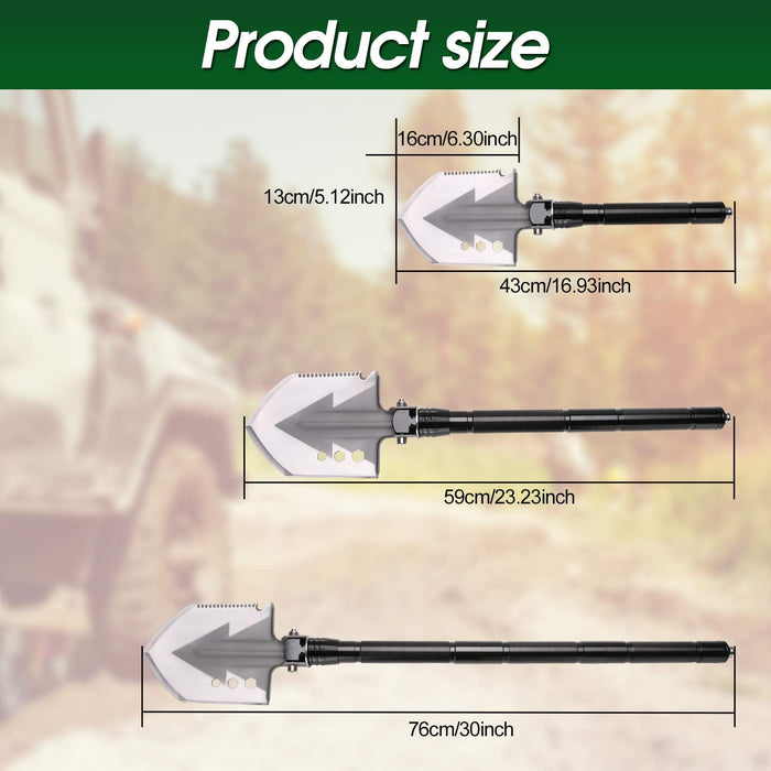 Survival Shovel, Portable Folding Shovel