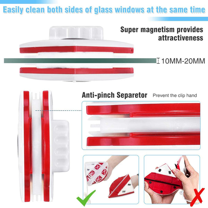 Magnetic Window Cleaner,Double Sided Cleaner,Window Cleaner Tools