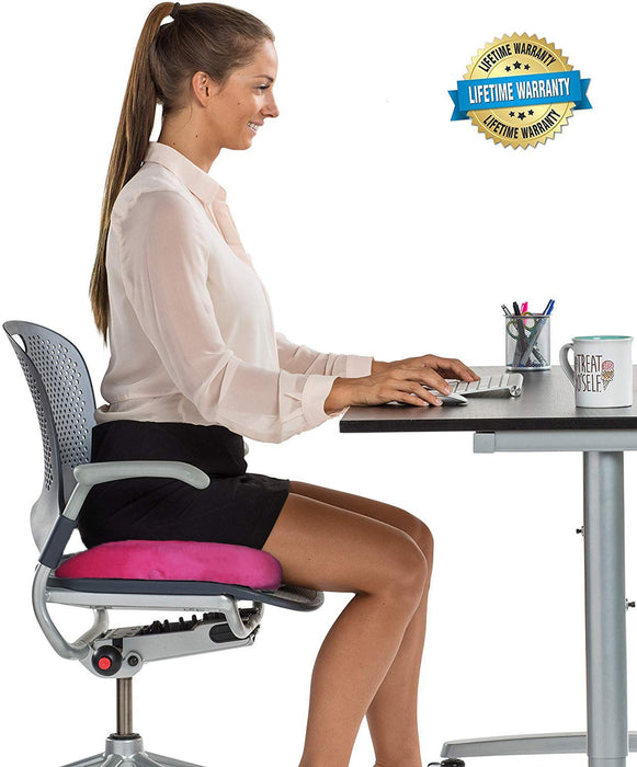 Seat Cushion Car Office Memory Foam - full