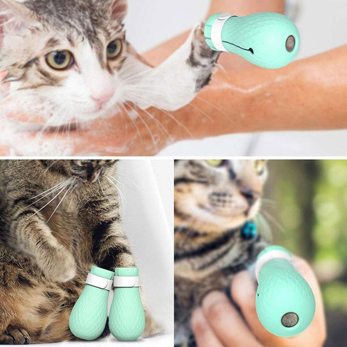 Adjustable Cat Paw Protector - full