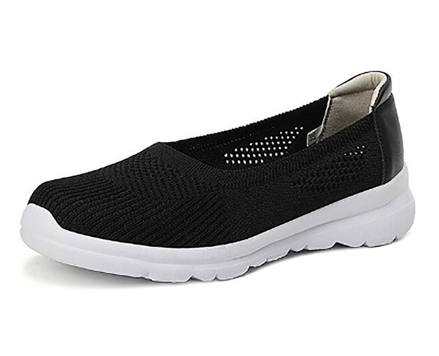 Women's Knitted Breathable Walking Sneakers