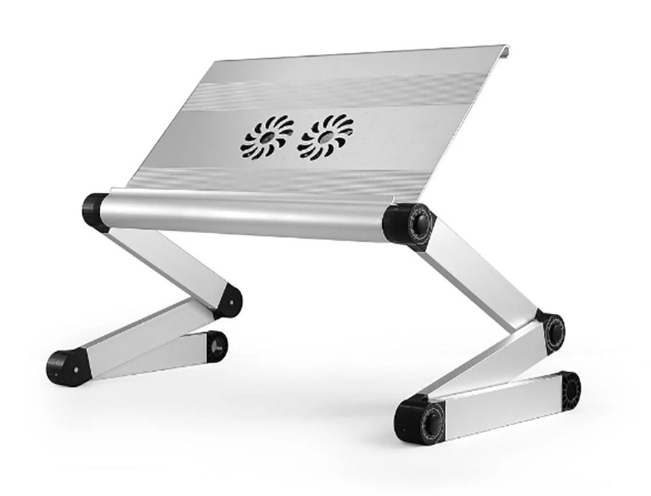 Large Adjustable Laptop Stand  with Dual Fans and 3 USB Ports