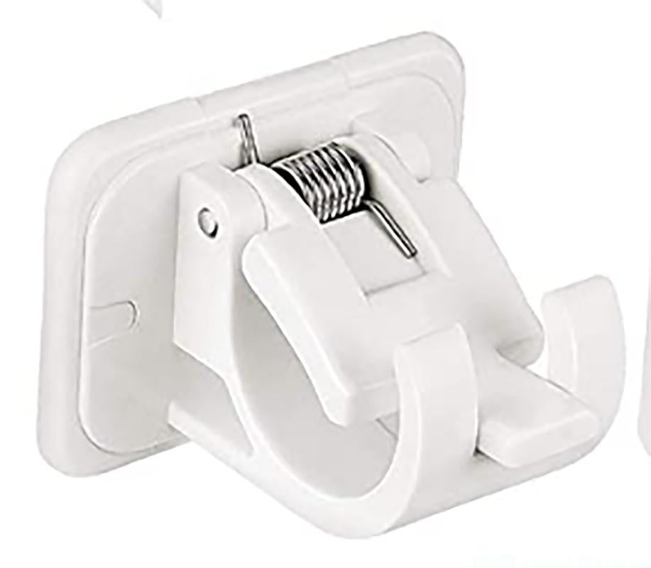 Adhesive Curtain Rod Adjustable Bracket No Need To Drill