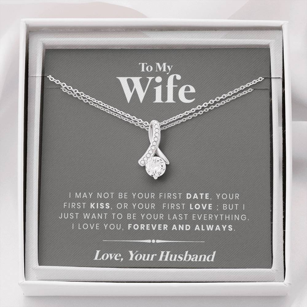 to my wife last