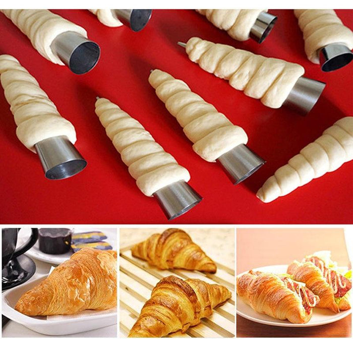 Stainless Steel Croissants Molds