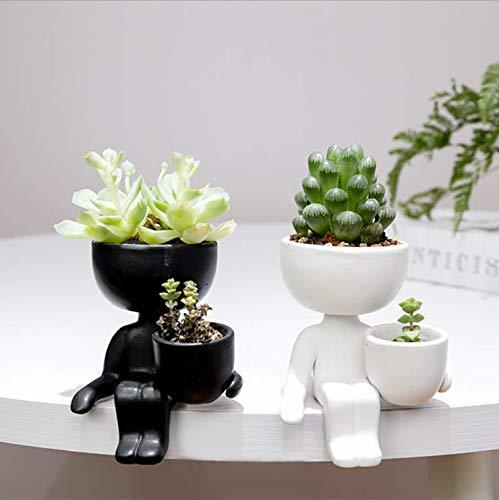 Ceramic Succulent Pots,Mini Plant Planter| Table Top Vase