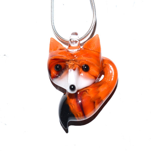 Fox (Orange) Necklace